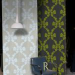 Обои для стен Cole and Son Patina Collection COLE & SON - PATINA COLLECTION SETTING - ROCOCO STRIPE - 72-7025 HR