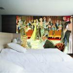 Обои для стен Atlas Wallcovering Raphael 1 ROOMSET 1030  BALLROOM NET