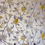 Обои для стен Zoffany Trade Routes FLOWERING TREE YELLOW WALLPAPER